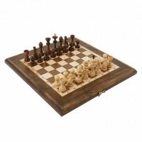 Шахматы + Нарды резные 40 Haleyan