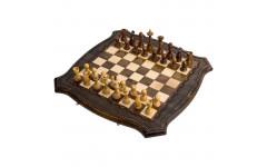 Шахматы + Нарды резные 50 Ohanyan