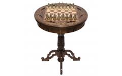 Стол ломберный шахматный Круг Света Haleyan