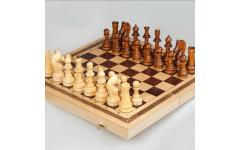 Шахматы точеные Офисные с доской Орлов