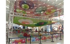 Подвесная игровая площадка 6 х 6 м (2 этажа)