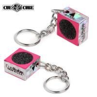 Брелок-инструмент для обработки наклейки Cue Cube розовый