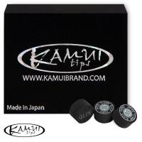 Наклейка для кия Kamui Black ø12,5мм Super Soft 1шт.