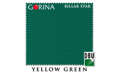 Сукно Gorina Billar Star 197см Yellow Green