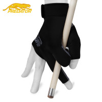 Перчатка Predator Second Skin черная/серая правая XXS