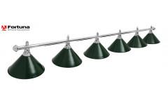 Светильник Fortuna Prestige Silver Green 6 плафонов