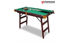 Складной бильярдный стол Fortuna Пул 4фт с комплектом аксессуаров