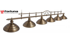 Светильник Fortuna Modena bronze antique  6 плафонов