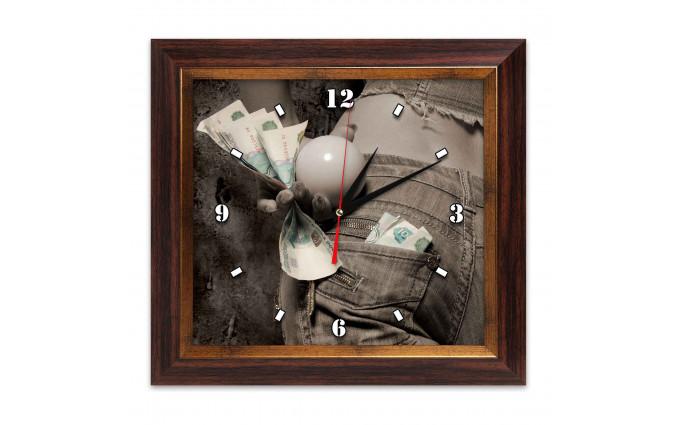 Часы Бильярд AFG7811 38х41см