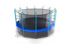 Батут EVO JUMP Internal 16ft (Blue) + Lower net