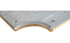 Плита «Premium-Quality Rasson» 9 ф (25 мм, 3-pc) пул, с подложкой