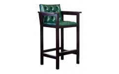 Кресло бильярдное из ясеня (мягкое сиденье + мягкая спинка, цвет махагон)