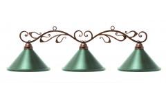 Лампа на три плафона